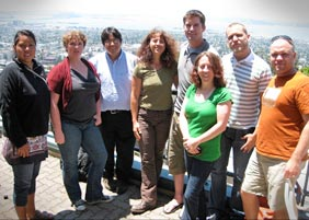 Photo of the 2010 RET participants