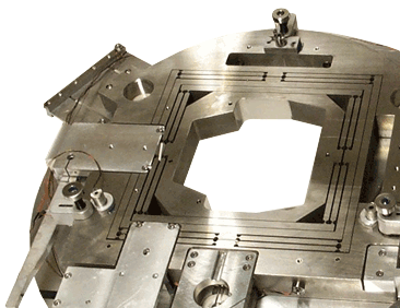 A high-precision stage fabricated by CXRO's Instrument Fabrication Facility